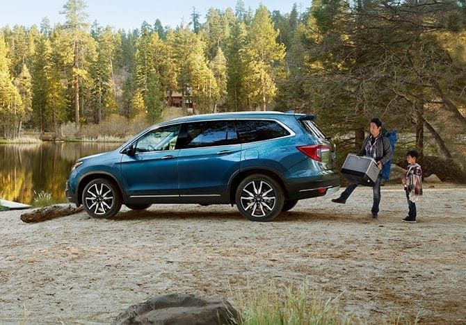 How much can the 2022 Honda Pilot tow?